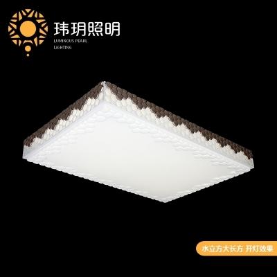 灯具的大小要结合室内的面积