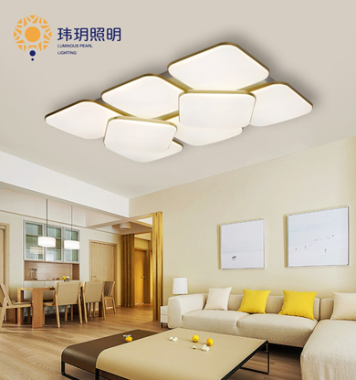中山塑艺现代灯